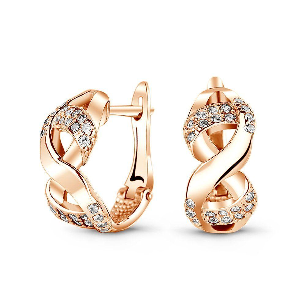 Золоті сережки - купити стильні і красиві 4fc0ba9a2b0d1